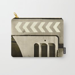 Road Roller Chevron 05 - Industrial Abstract Carry-All Pouch