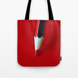 Crayon rouge red Tote Bag