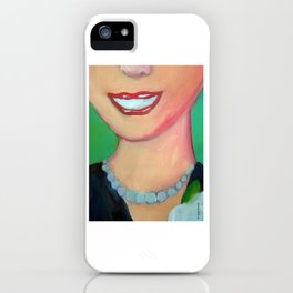 Evita by Diego Manuel. iPhone Case