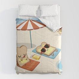 summer butter Comforters