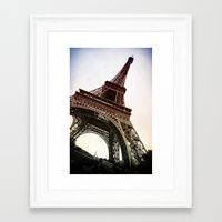 eiffel Framed Art Prints featuring Eiffel  by Electric Avenue