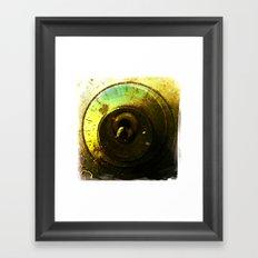 number 2 dial Framed Art Print