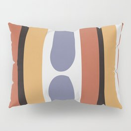 Reverse Shapes II Pillow Sham