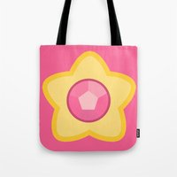 steven universe Tote Bags featuring Steven Universe by The Barefoot Hatter