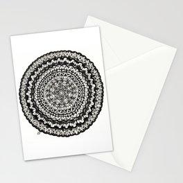 Pen and Ink Mandala Stationery Cards