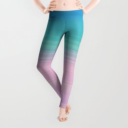 Miami Vice Pastel Ombre Leggings