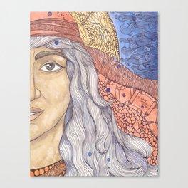 Huldah Canvas Print