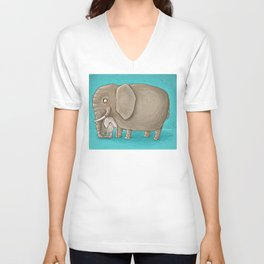 trunk nest Unisex V-Neck