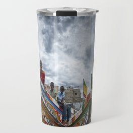 Playful Ship Captain and Mates Travel Mug