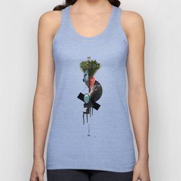 IN VEIN (Totem of the Peacock) Unisex Tank Top