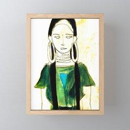 Shaman Framed Mini Art Print