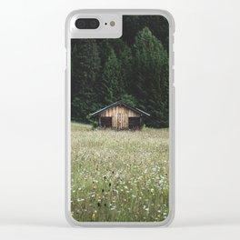 Alpine symmetry Clear iPhone Case