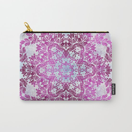 Always Save The Glitters Mandala Carry-All Pouch
