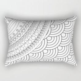 Ornate mandala Rectangular Pillow
