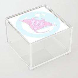 Lunar Manta Ray Acrylic Box