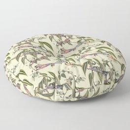 Dragonflies (A Study) Floor Pillow