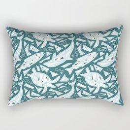 Spirit Animals Water - Dolphin - Fish - Turtle Rectangular Pillow
