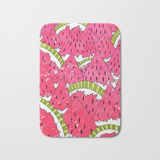 Watermelon Mounts Bath Mat