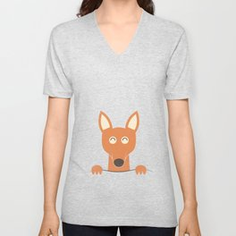 Pocket Kangaroo Unisex V-Neck