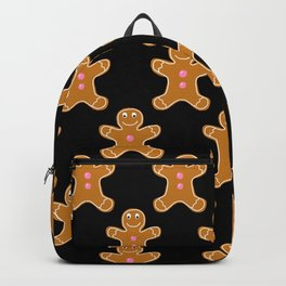 Gingerbread Man Pattern Backpack
