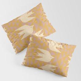 Doves In Flight Pillow Sham