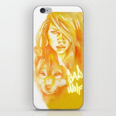 Bad Wolf iPhone Skin