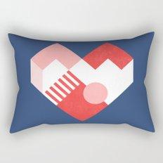 Heart II Rectangular Pillow
