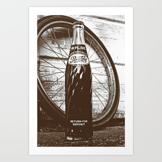 Pepsi-Cola classic Art Print