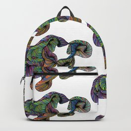 abstract digital Backpack