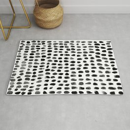 Watercolor Dots Rug