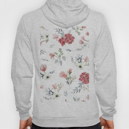 Autumn Floral Pattern Hoody