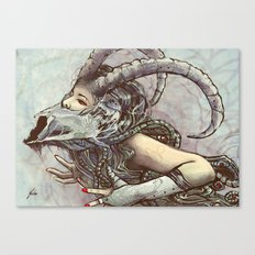 Zodiac Sign: Capricorn Canvas Print