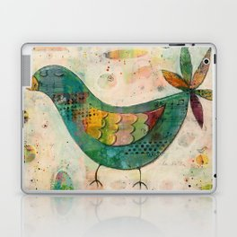 Blue(ish) Bird Laptop & iPad Skin
