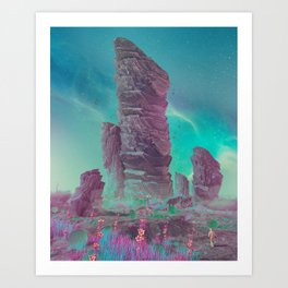 BIOTICS (everyday 03.08.17) Art Print