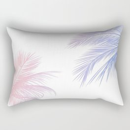 Palm Leaves Hawaii Rectangular Pillow