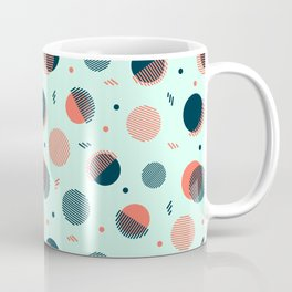 Mint Orbs Coffee Mug