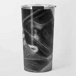 Carl Cox Pencil Drawing Travel Mug