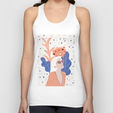 Thinkin About Kissin You Unisex Tank Top