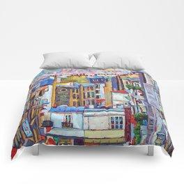 Montmartre View Comforters