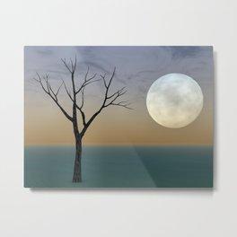 Moontree Metal Print