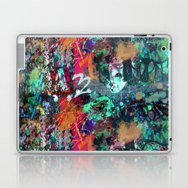 Graffiti and Paint Splatter Laptop & iPad Skin