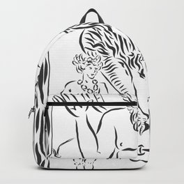 THE DEVIL WITH TWO MEN Backpack