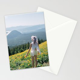 Daydreaming on Dog Mountain - Columbia River Gorge Stationery Cards