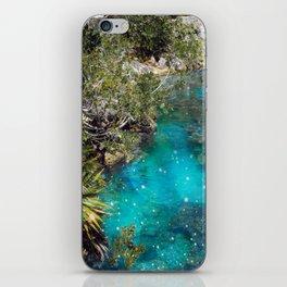 The Blue Lagoon iPhone Skin