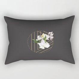 Tropical Flowers & Geometry III Rectangular Pillow
