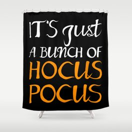 Halloween Hocus Pocus Shower Curtain