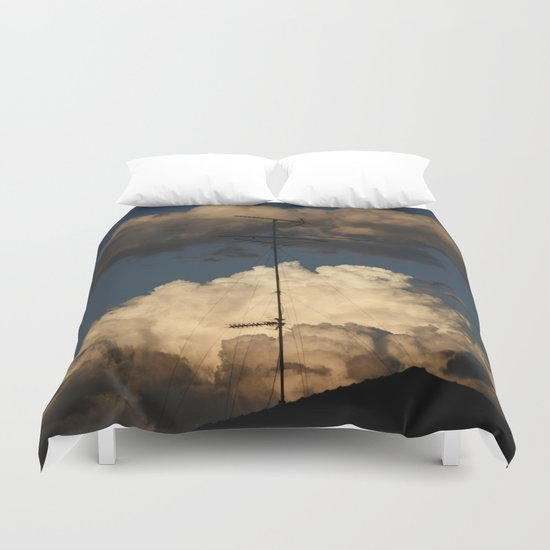 Spoken with God Duvet Cover