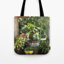 Container Gardening Done Right Tote Bag