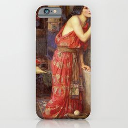 """Thisbe"" by John William Waterhouse, 1909 iPhone Case"