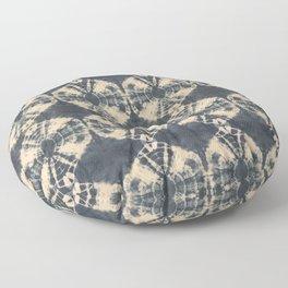 Circle Shibori Floor Pillow